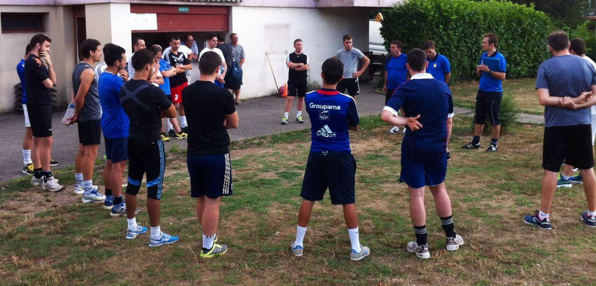 SENIORS : l'heure de la reprise a sonné pour les Seniors du FC Fontaines.