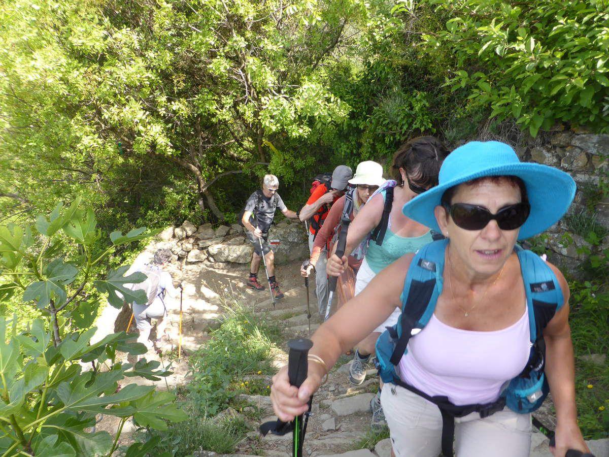 Les montées sont aussi pentues que les descentes!
