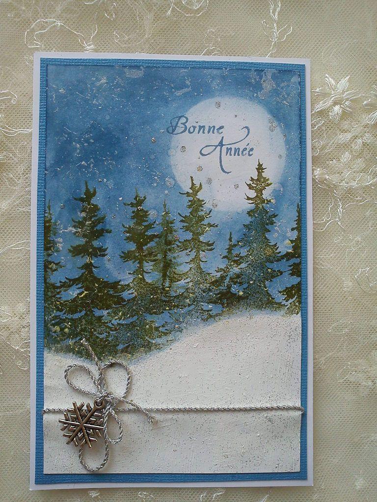 """tampon """" Bonne Année """" de la Cie Des Elfes"""