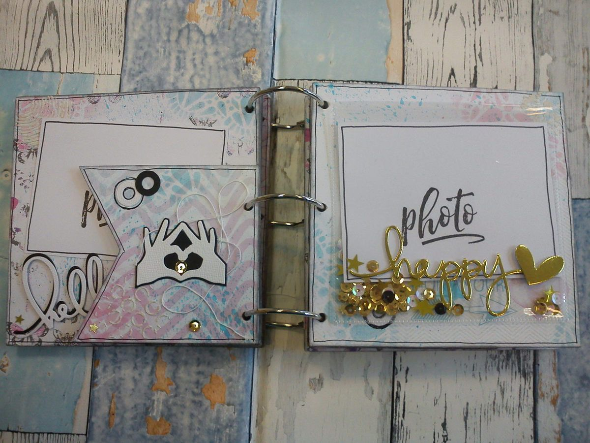 Mini album souvenirs par Athéna
