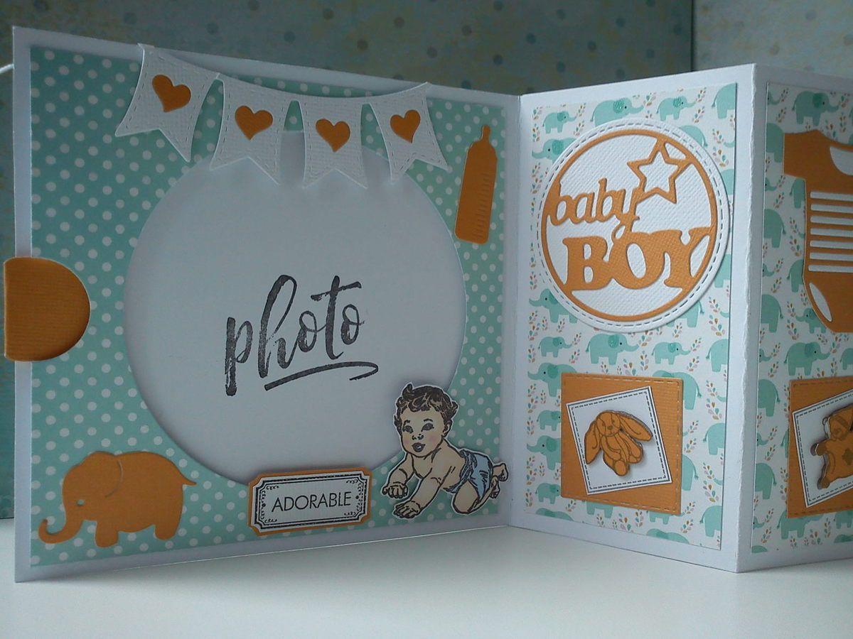 dies et tampon Florilèges Design, Artémio, tampon bébé offert par Patoune