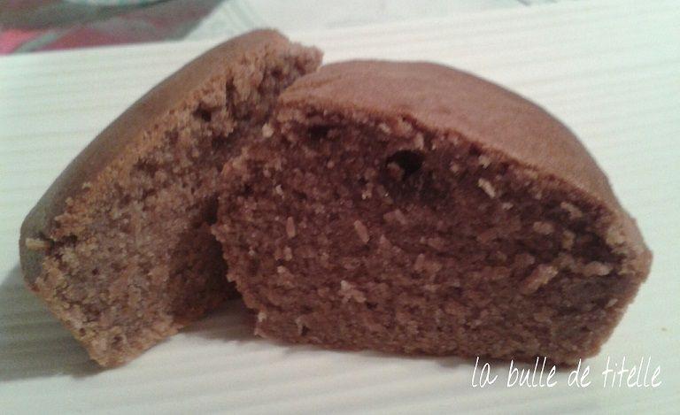 Muffins banane/chocolat sans gluten ni lactose ni oeuf