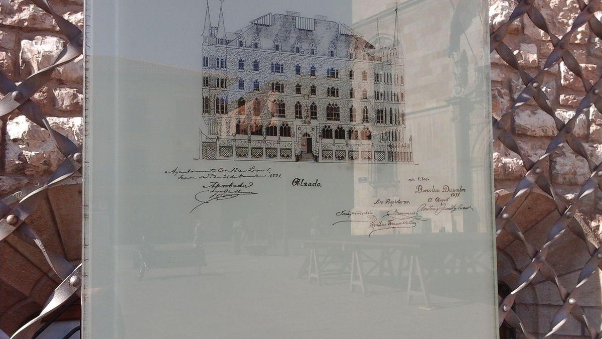 La 3 ème  photo est une copie du dessin du projet déposé auprès de la mairie pour accord.