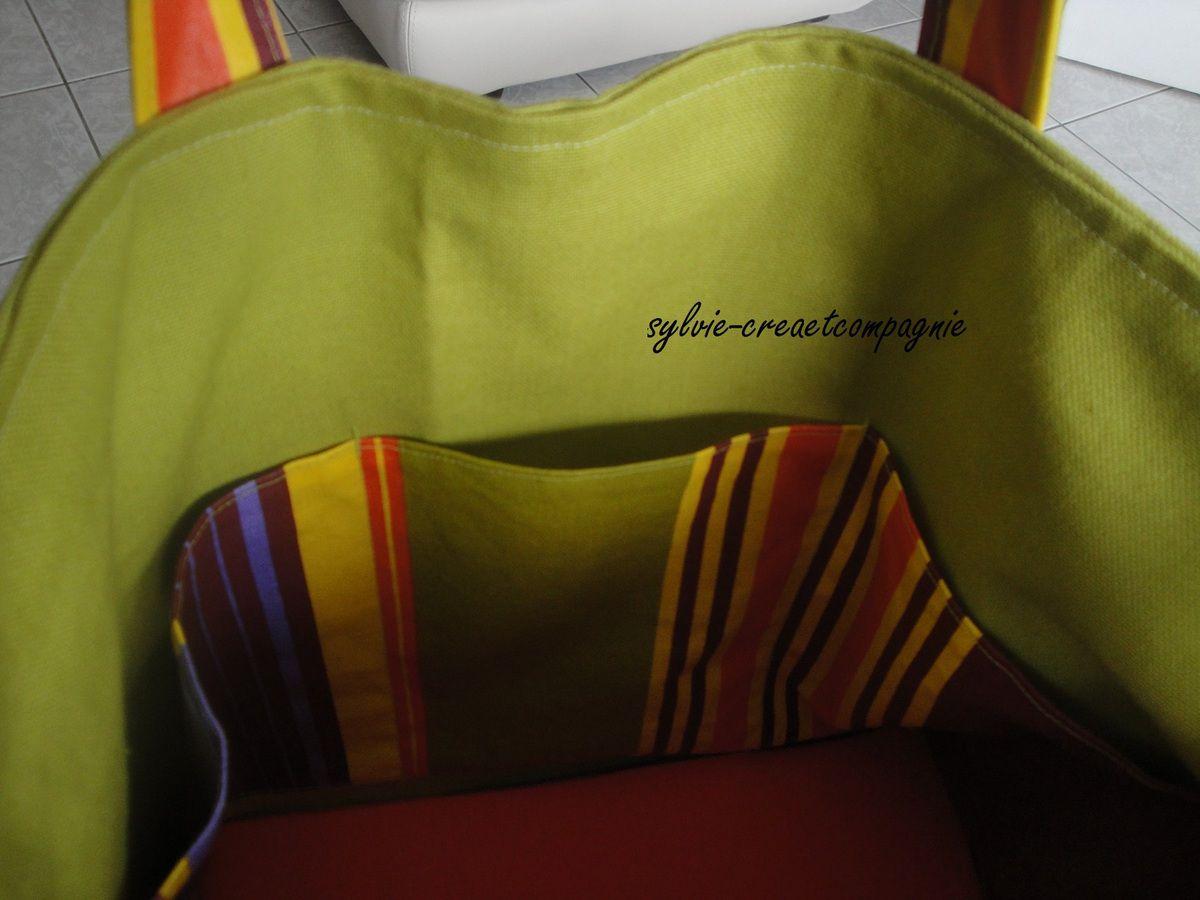 Nouveau sac de vacances.