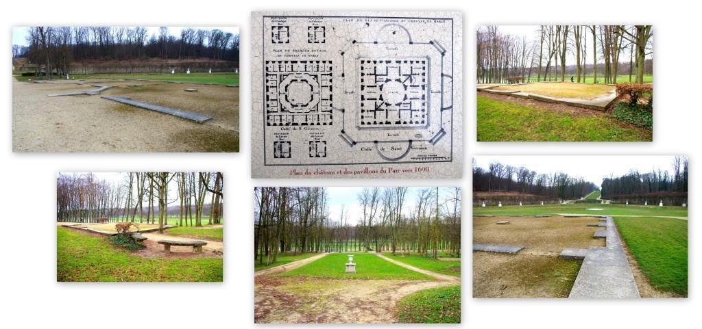 Le parc et le village de Marly-le-Roi