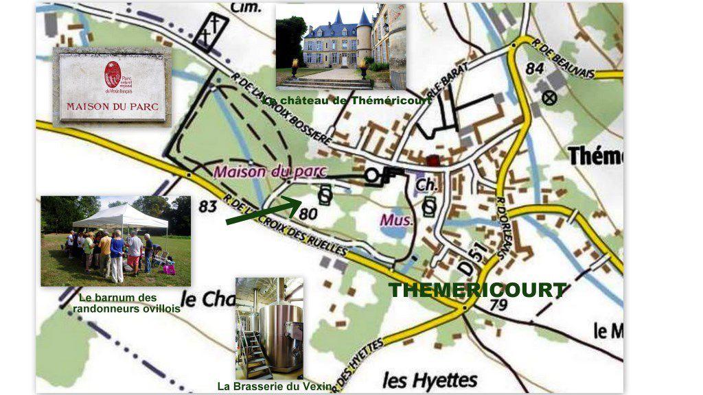 La Maison du parc du Vexin à Théméricourt, son château et son musée