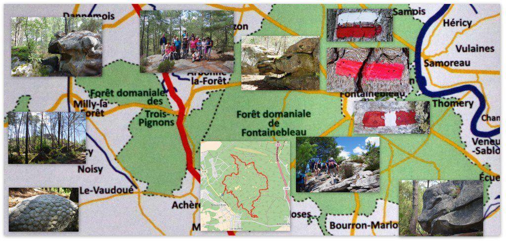 Le circuit des 25 Bosses dans le Massif des Trois Pignons (première et deuxième partie)