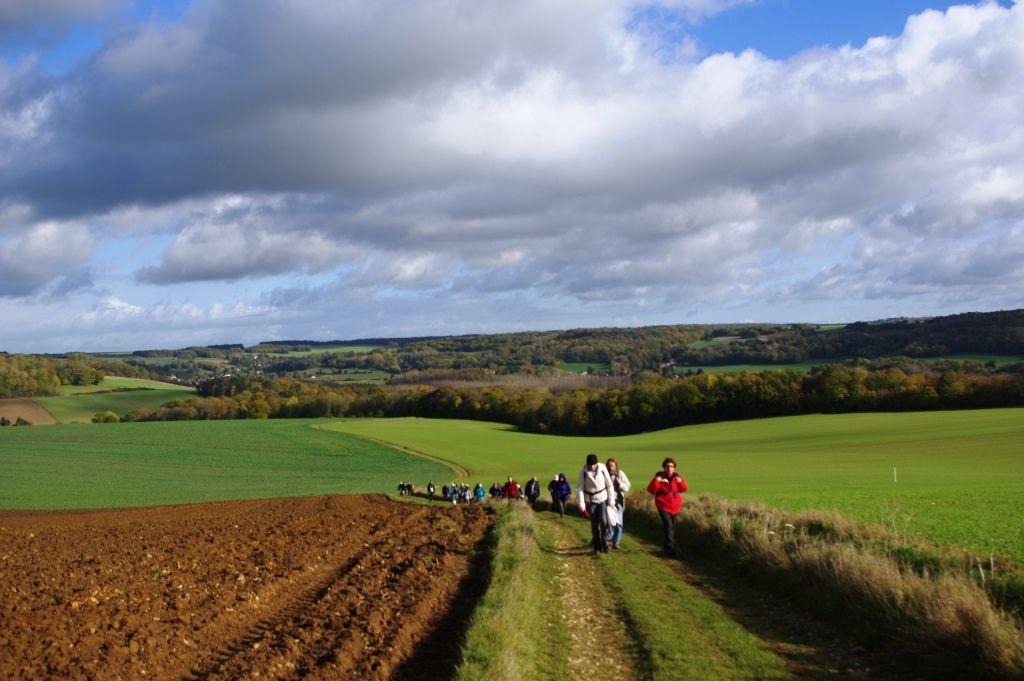 Coteaux et abords de l'Epte au départ de Bray-et-Lû