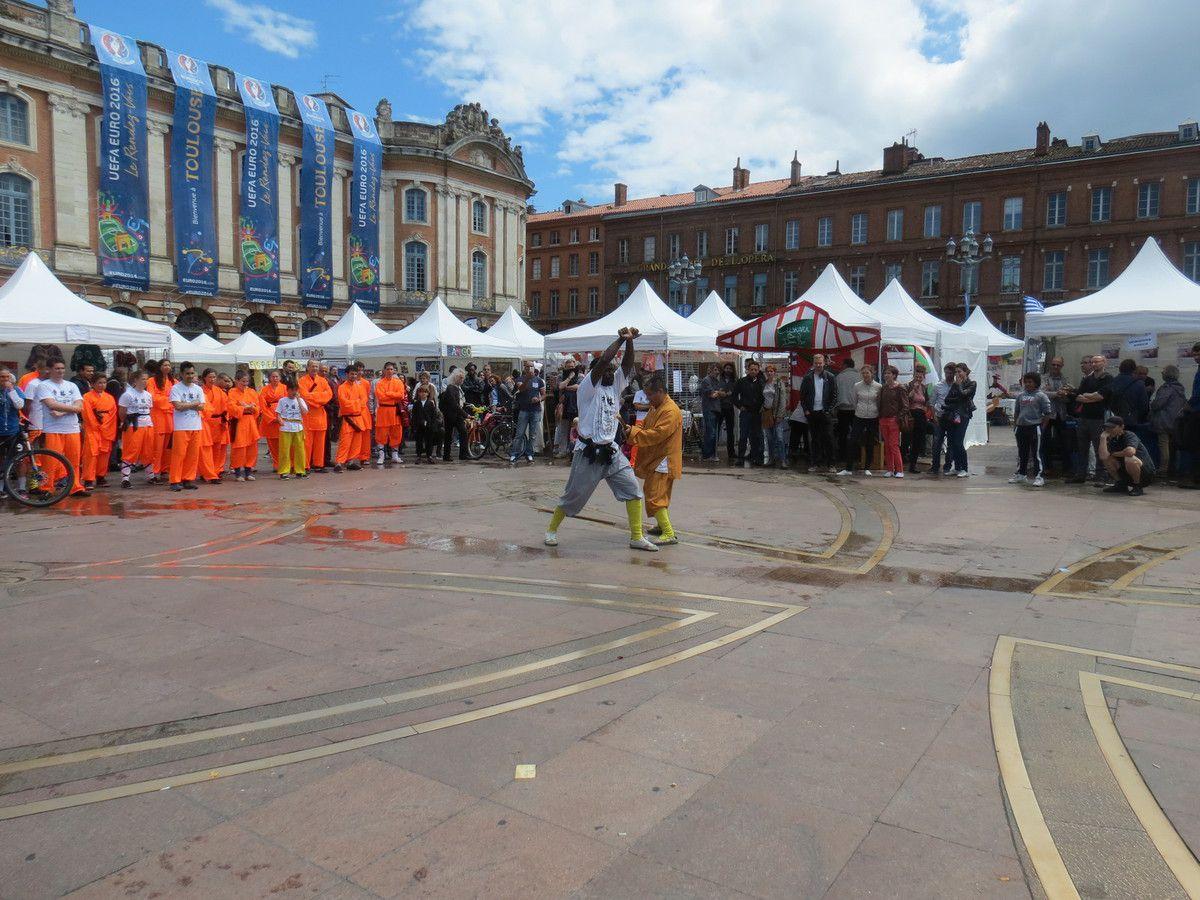 Démonstration place du Capitole 29 mai 2016