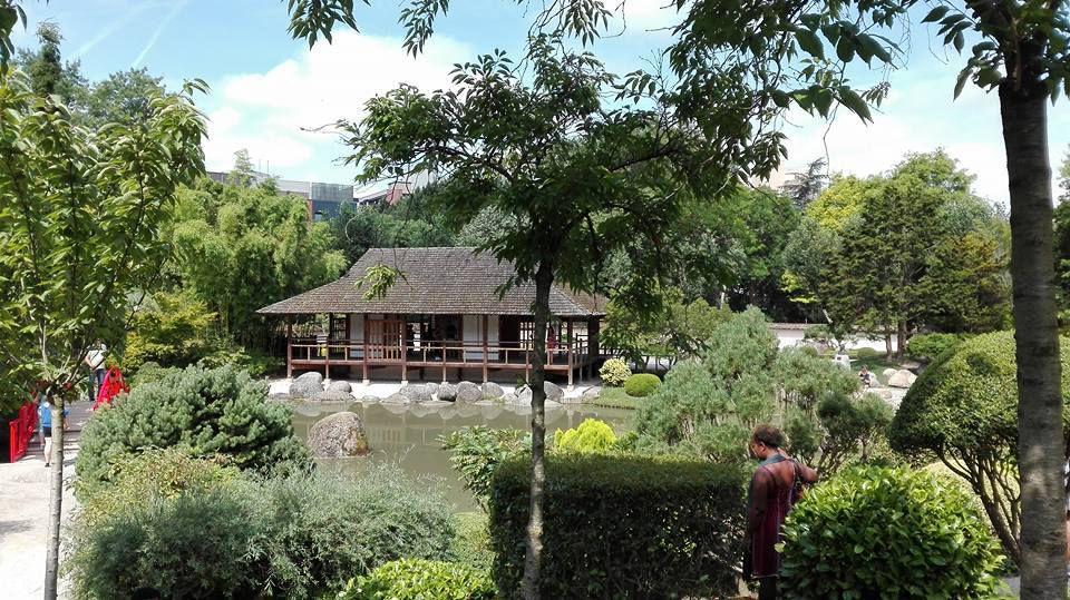 Entraînement au jardin Compans Caffarelli