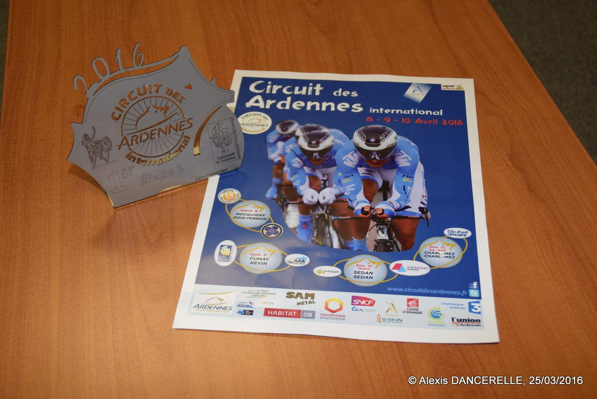 Un trophée &quot&#x3B;Made in Ardennes&quot&#x3B;