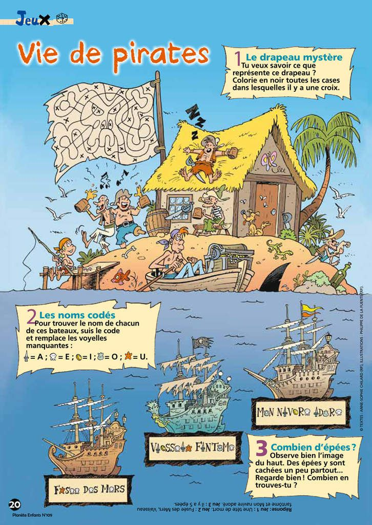Jeux pirates