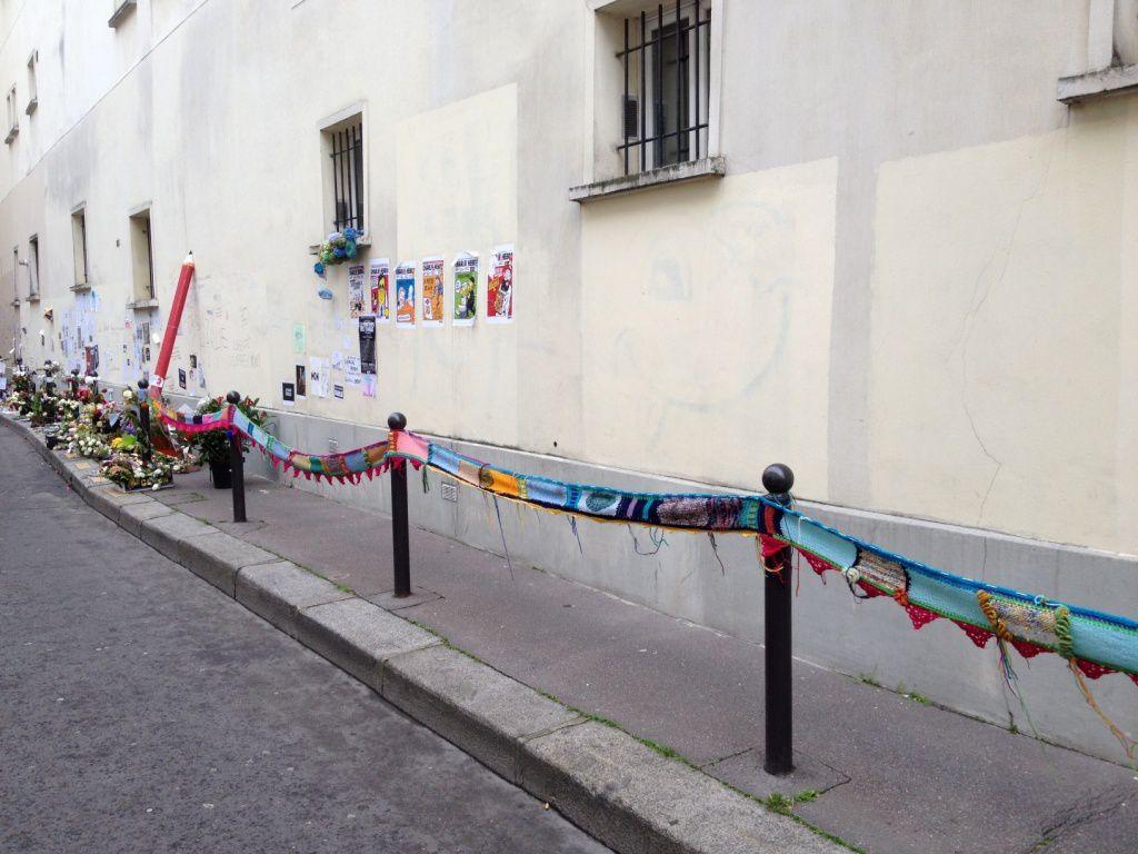 Allée VERTE - 11eme - Charlie Hebdo