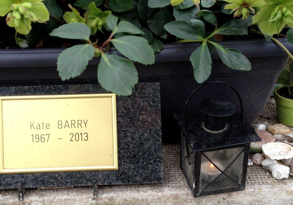 Sépulture de Kate Berry - Cimetière Montparnasse - 14eme
