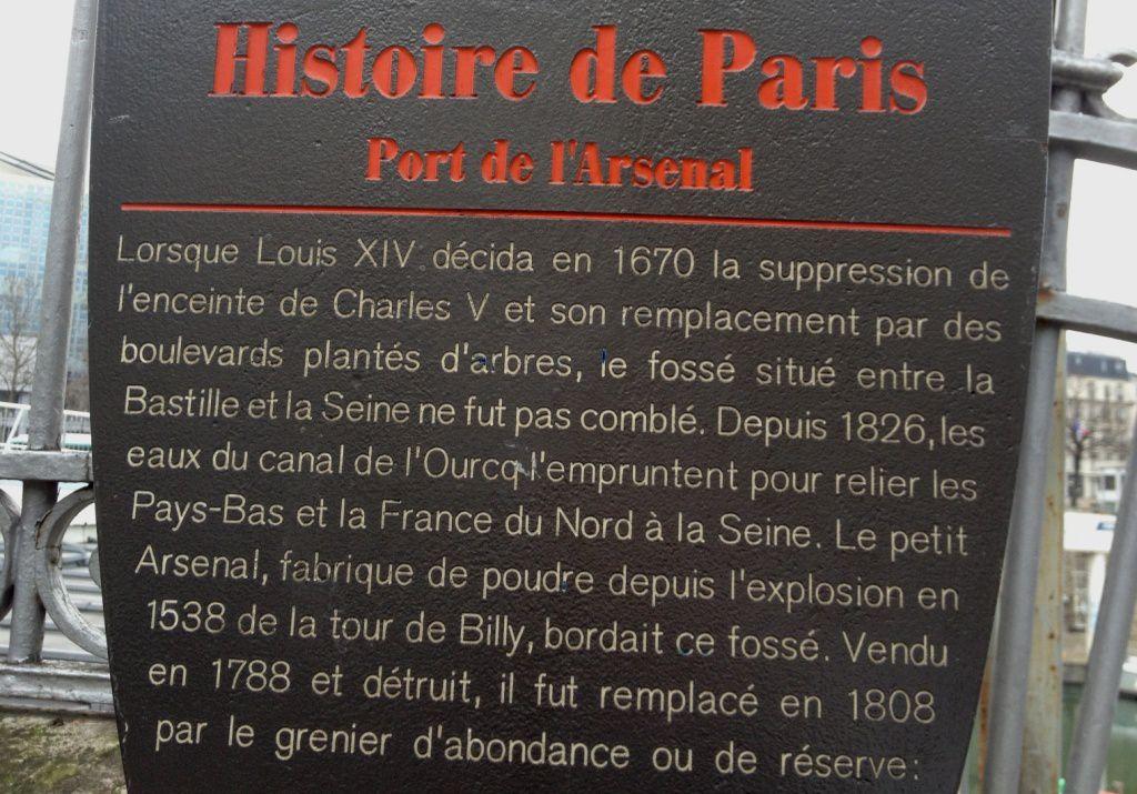 Port de l 39 arsenal le paris de poupie - Port de l arsenal bastille ...
