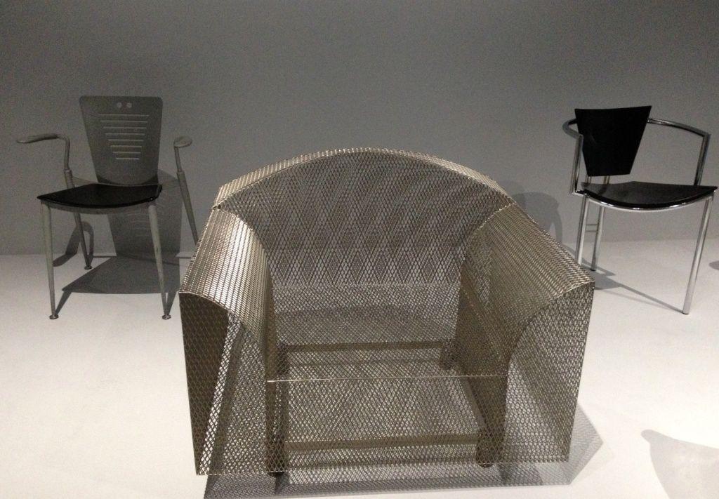 Expo Jean Paul Goude : Chaises - Centre Pompidou - 4eme