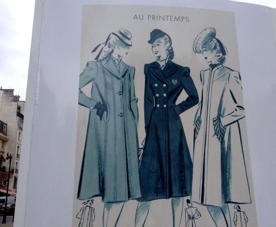 Expo Place Palais Royal: 150 ans Printemps à partir de 1930 - Arrond 1