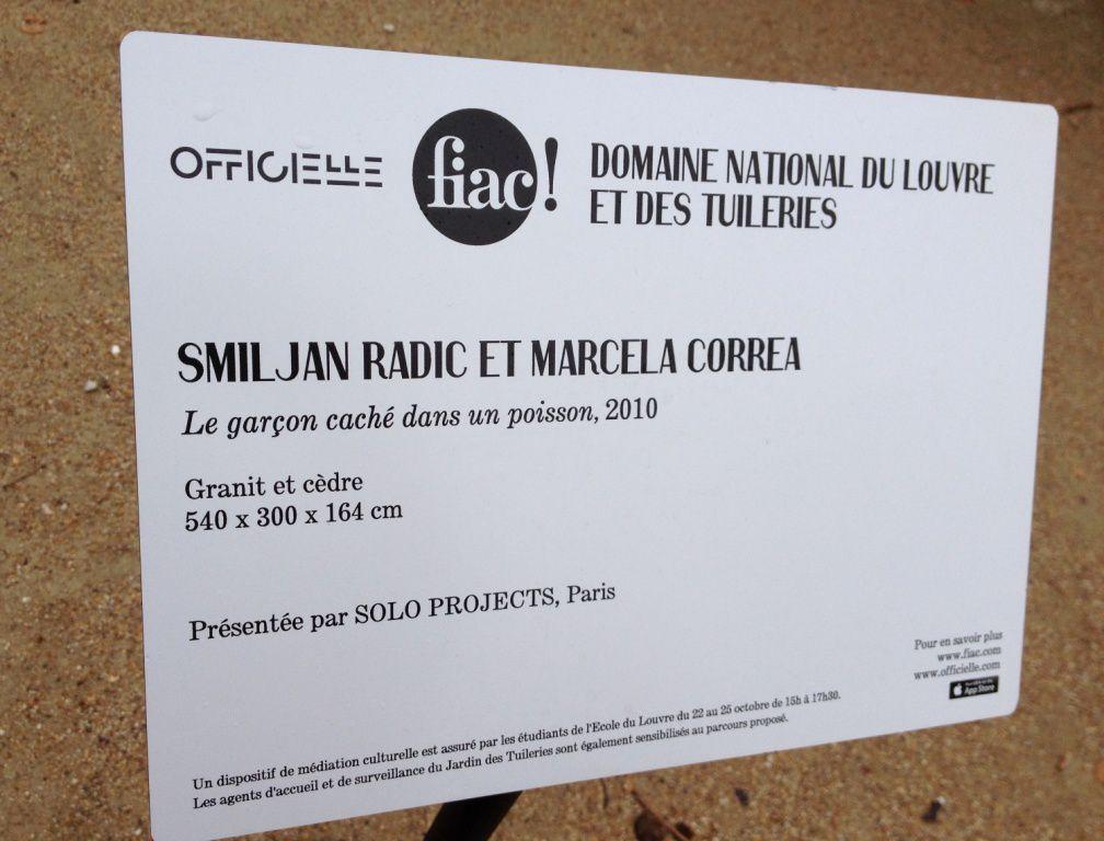 Jardin Tuileries - FIAC 2015 - 1er