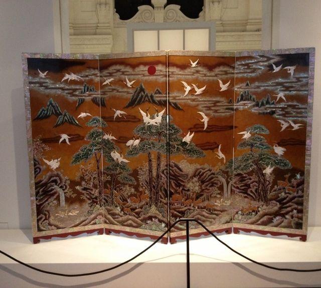 Corée - Laque Musée arts décoratifs - 1er