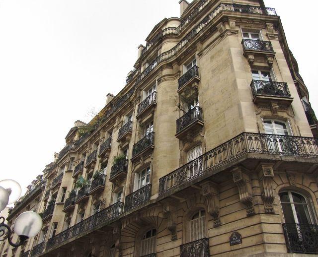 Rue Récamier et son square - 7eme