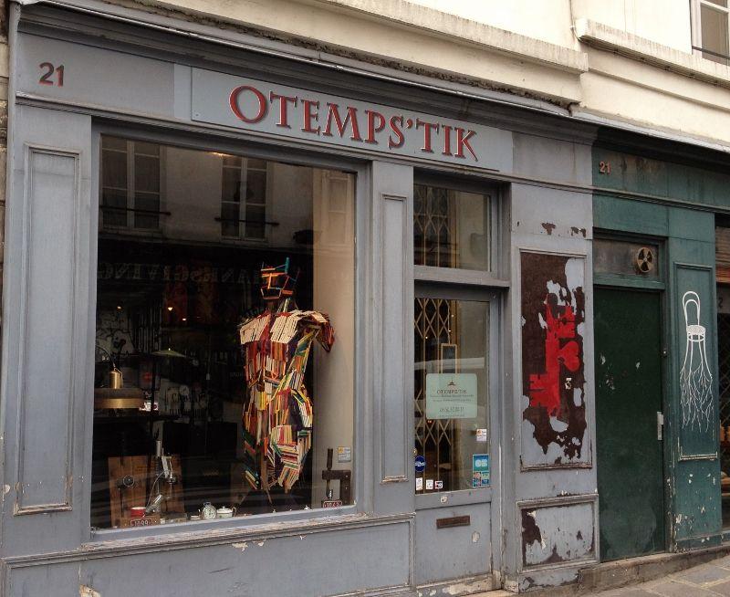 Shopping vintage - Rue Saint Paul - 4eme
