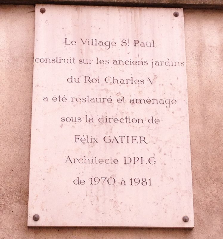 Village Saint Paul - Rue Saint Paul  4eme