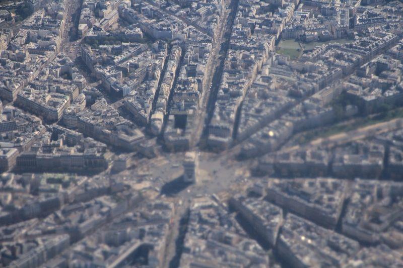 Vues aériennes de Paris