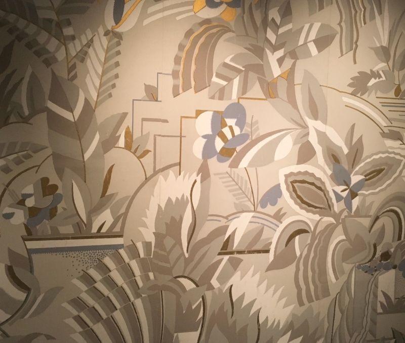 Expo Musée des arts décoratifs : 4 siècles de papiers peints : les fleuris
