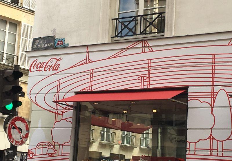 Street art Coca Cola - 1er