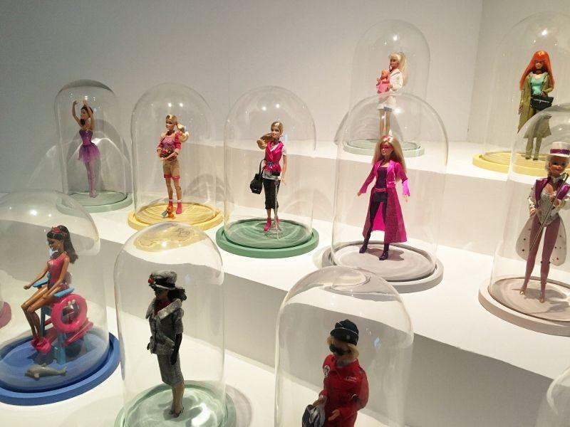 Les métiers de Barbie musée arts décoratifs 1er