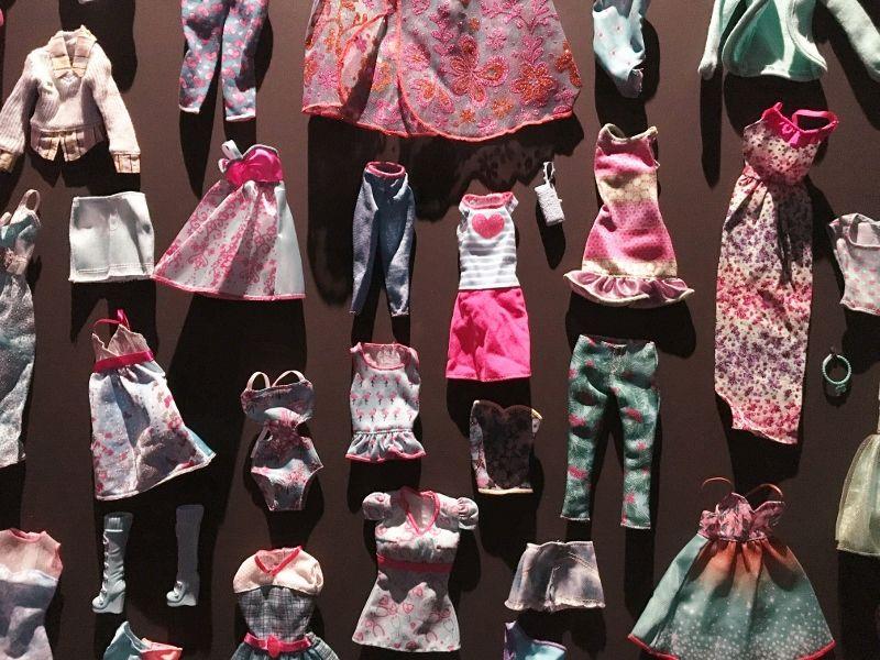 Dressing de Barbie musée arts décoratifs