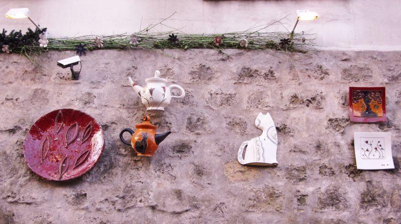 Galerie céramique rue des saules 18eme