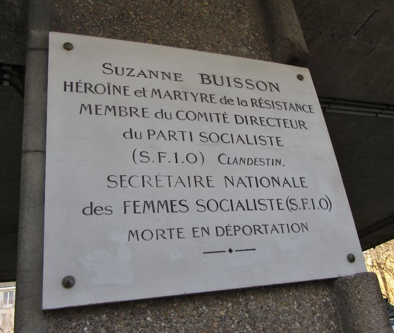 Square Suzanne Buisson 18eme