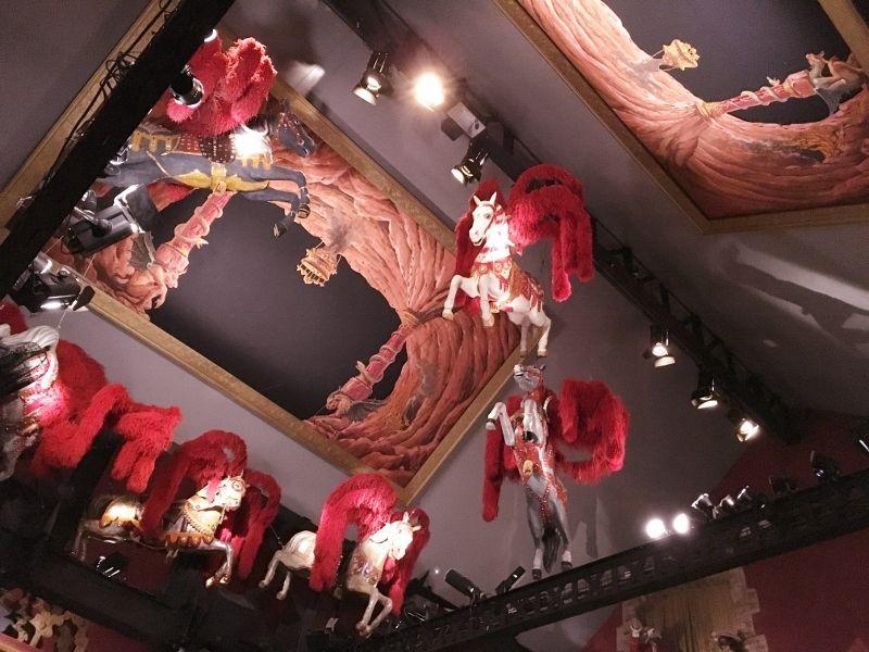 Salon vénitien Musée arts forains - 12eme