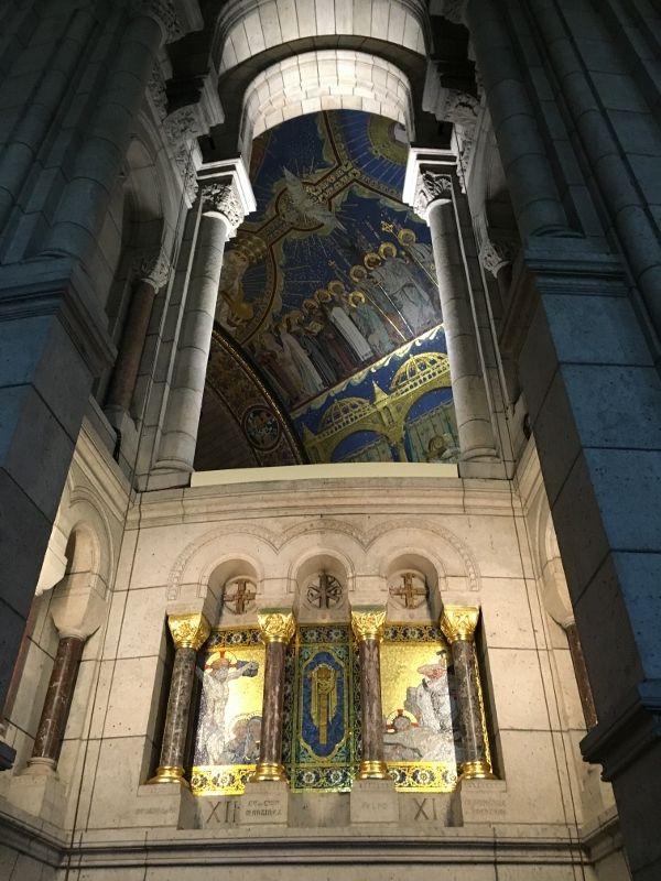 Basilique Sacré Coeur - Intérieur - 18eme