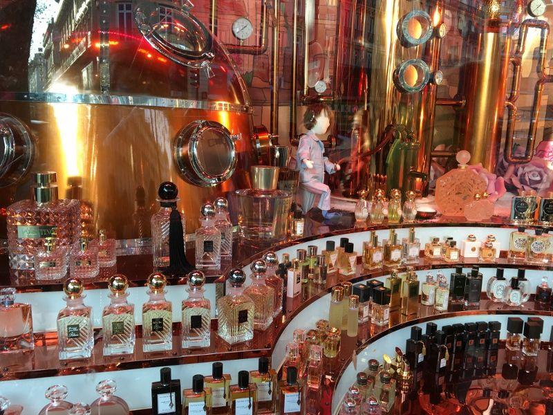 L'orgue à parfum Noel 2016 Magasin Printemps