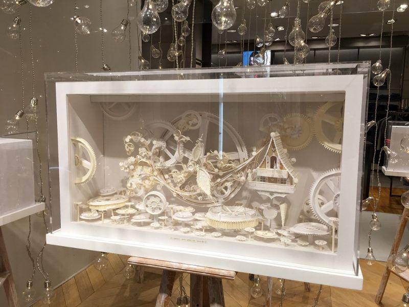 Galeries Lafayette : Intérieur Noel 2016