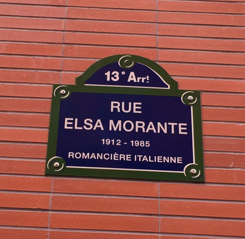 Rue Elsa Morante 13eme
