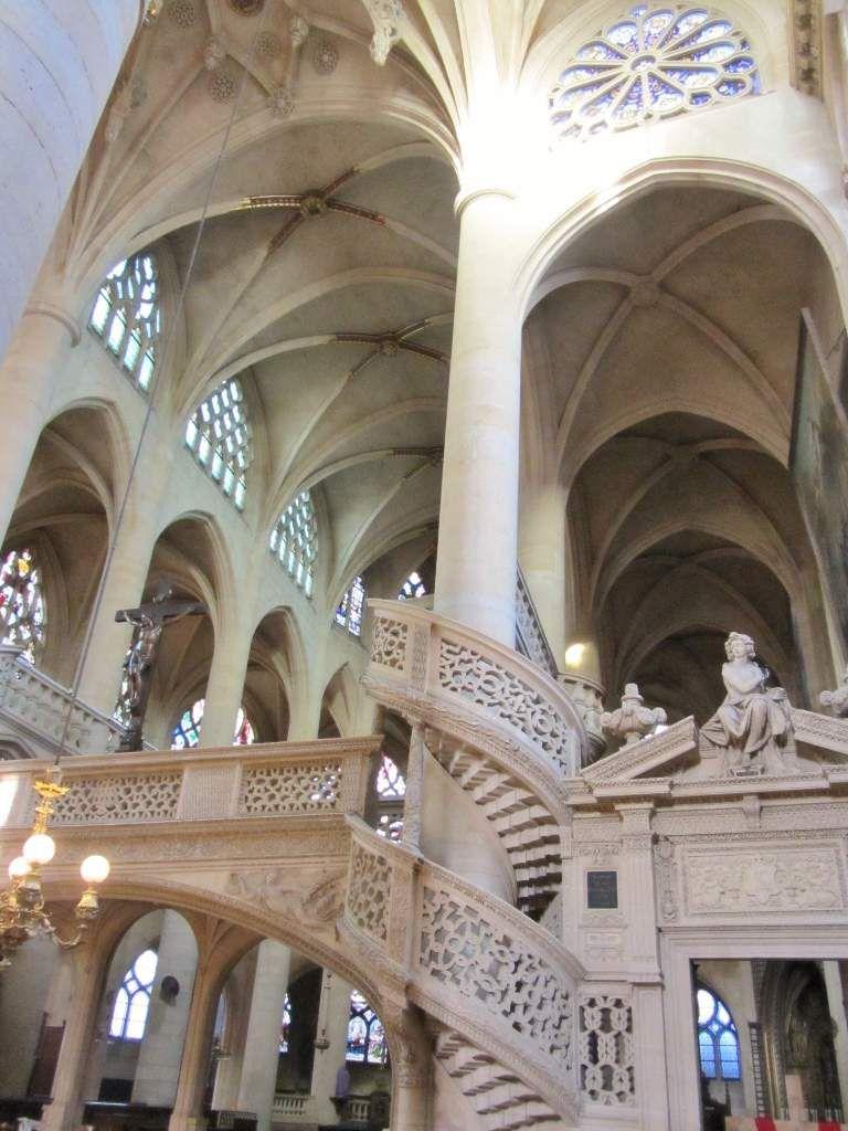 Intérieur église St Etienne du Mont 5eme