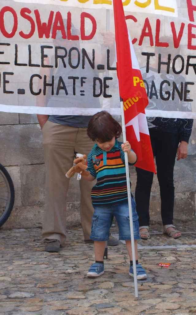 14 Juin 2016,  près de 2000 personnes pour une journée d'action unitaire à Avignon
