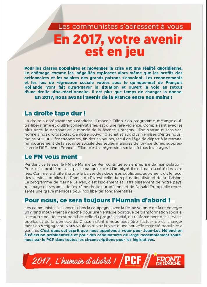 Pierre Laurent : &quot&#x3B; Une campagne des communistes offensive et libre &quot&#x3B;