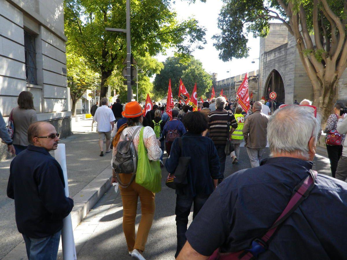 21 septembre , une journée chargée à Avignon