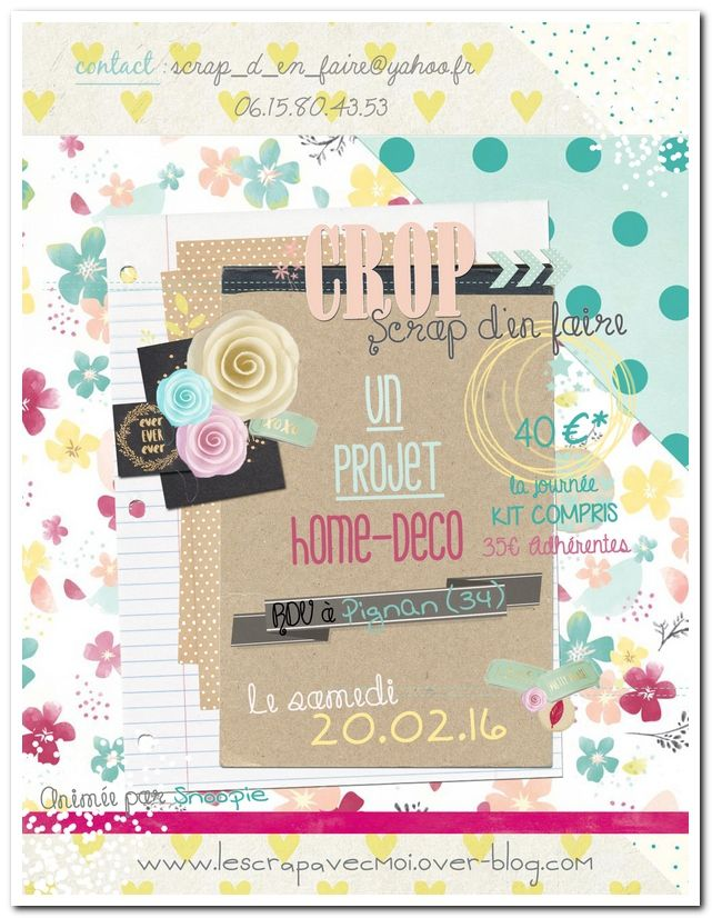 crop, scrap, atelier, home deco