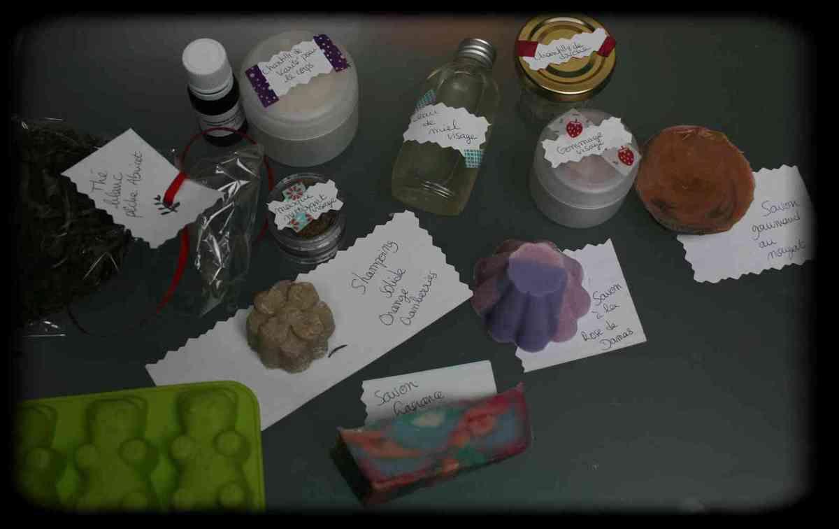 Swap échantillons - Mon colis pour Coralie
