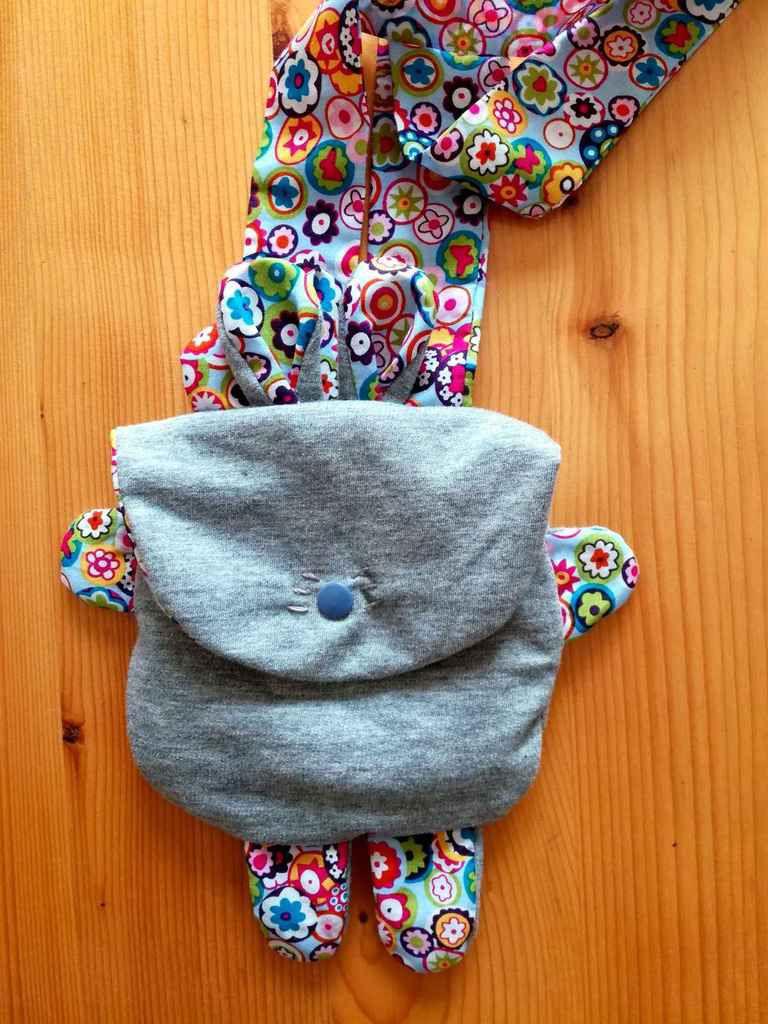 Pochette petit lapin - DIY