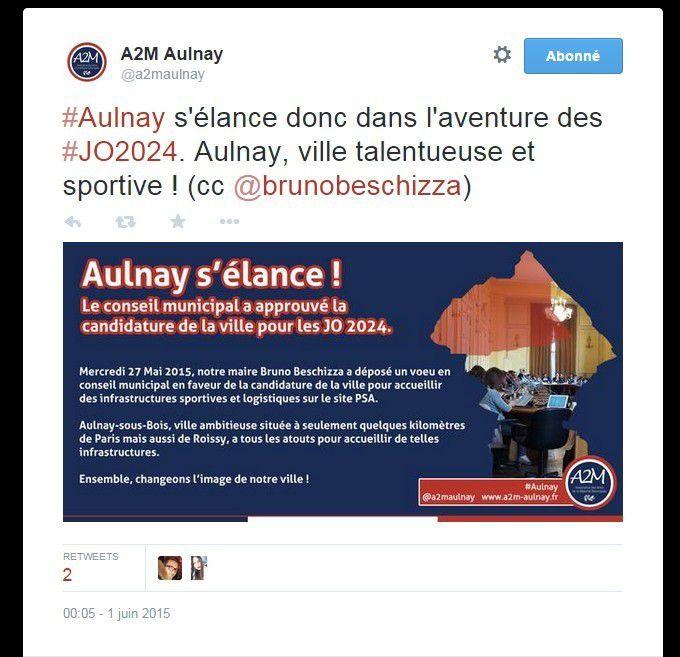 Selon les amis de la droite, Aulnay s'élance. Vers le néant !