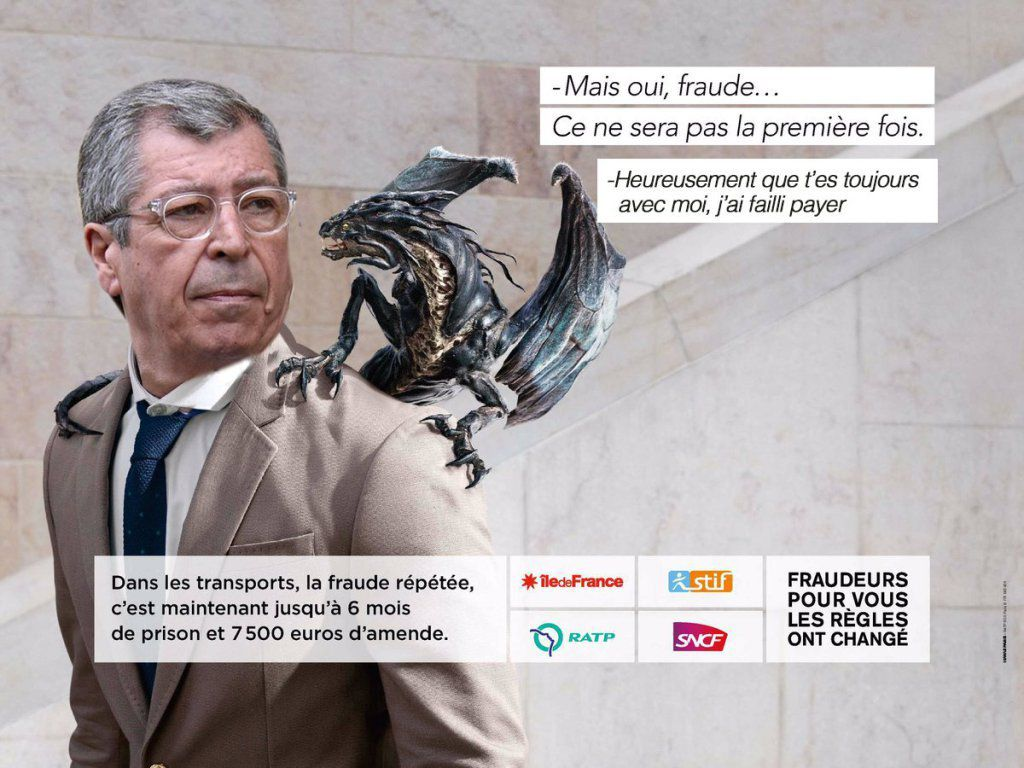 Source : hhttp://www.buzzwebzine.fr/web-parodie-campagne-anti-fraude-ratp-dragons/