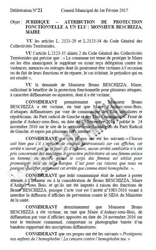Beschizza : une nouvelle plainte en diffamation, cette fois-ci contre les élus de l'opposition