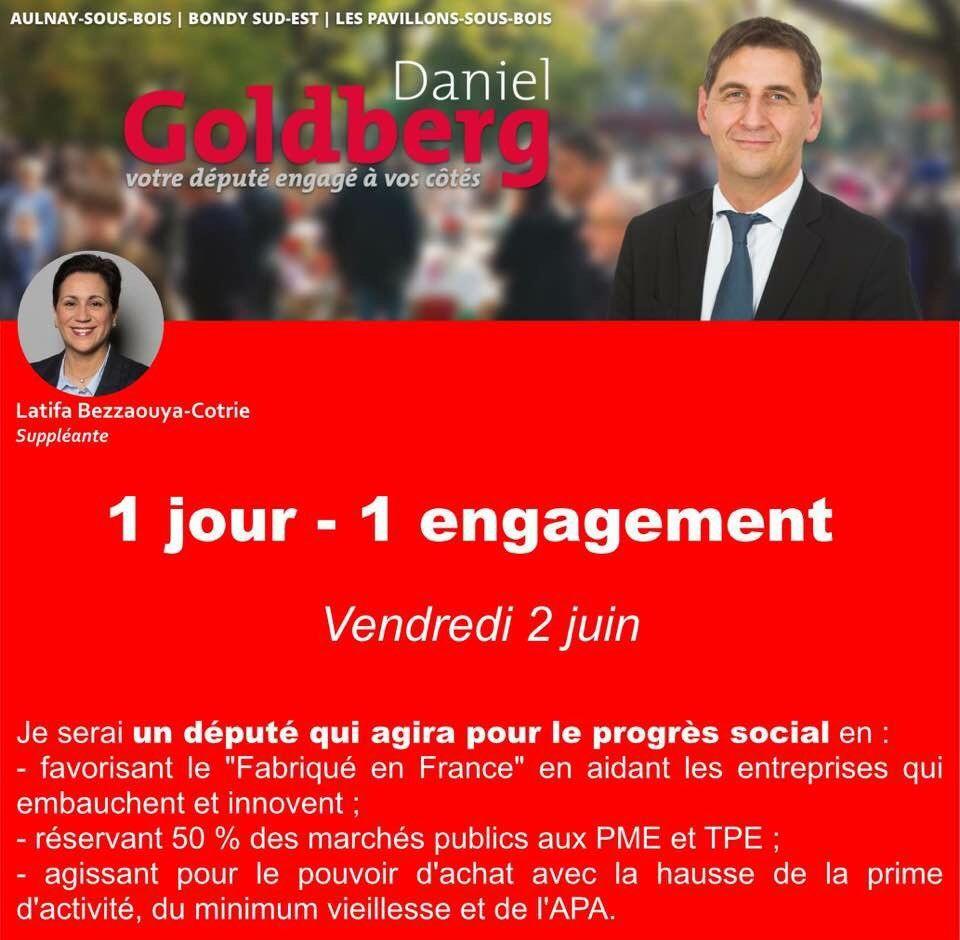 Vous aussi dès le 11 juin, votez pour Daniel Goldberg (8)