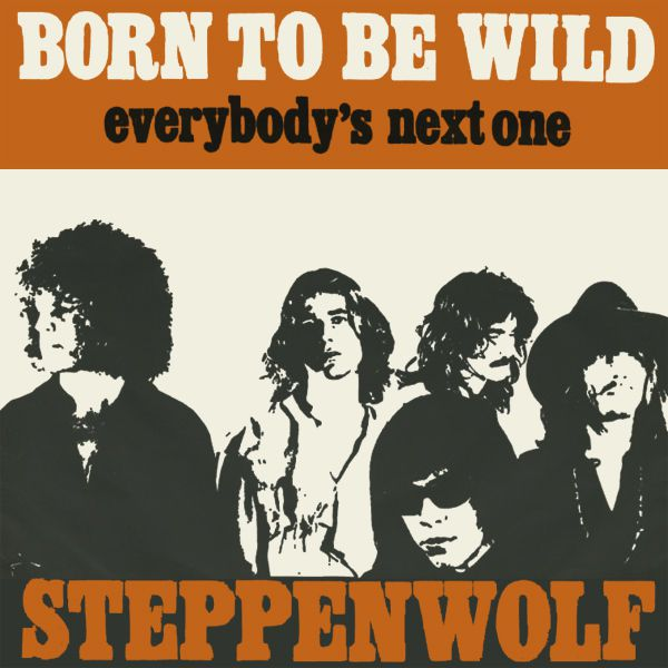 One track a day: BORN TO BE WILD by Steppenwolf